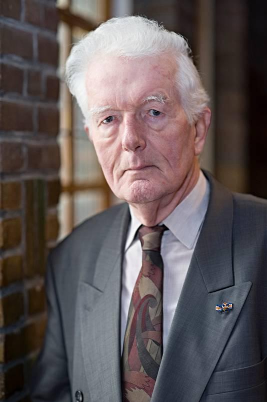 Cees Douma (86), de architect van het Etten-Leurse stationsgebouw.