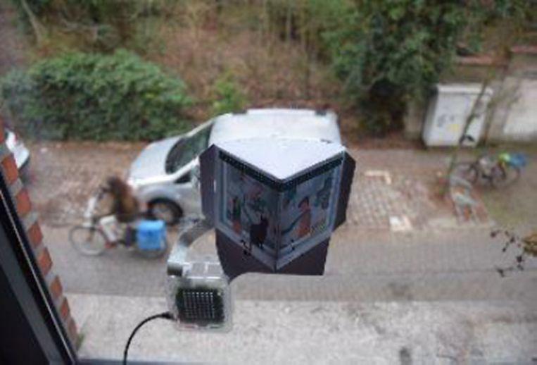 Dit is een voorbeeld van een TELRAAM.