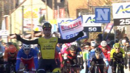 Dylan Groenewegen sprint met sprekend gemak naar zege Kuurne-Brussel-Kuurne