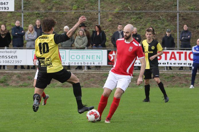 Rood-Wit tegen Groesbeekse Boys, vorig seizoen.