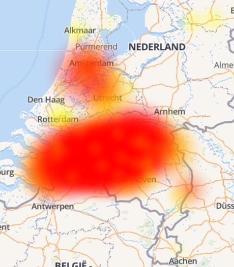 Ziggo kampt met storing in Brabant, probleem lijkt nog niet voorbij