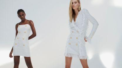 Balmain lanceert een betaalbare kledingcollectie voor de feestdagen