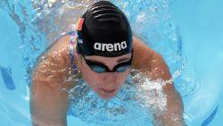 Fanny Lecluyse met vijfde tijd naar finale 100 meter schoolslag op WK kortebaan