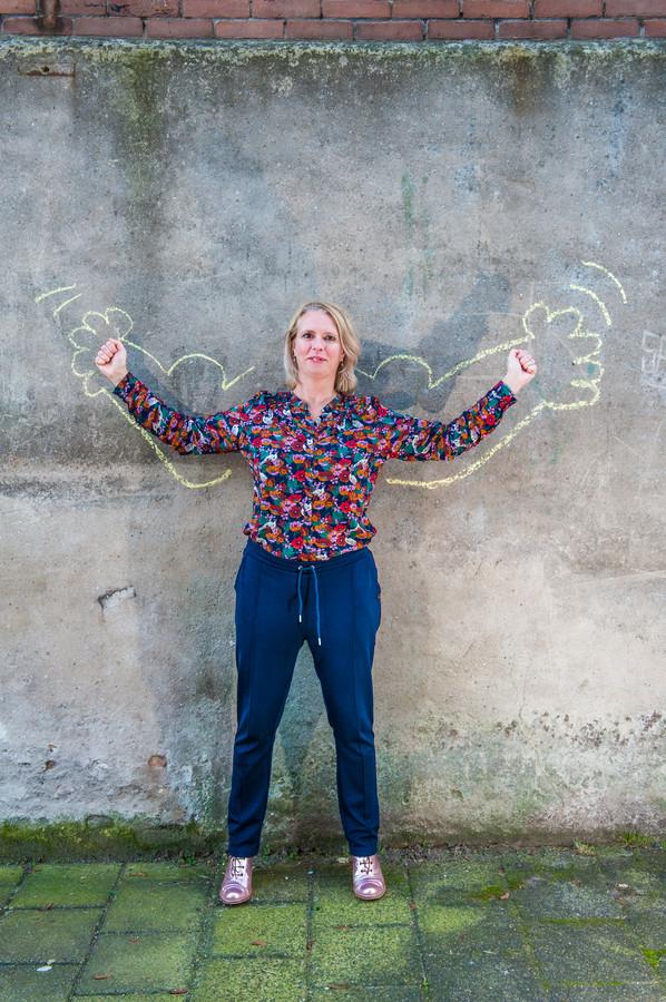 Mieke Kars, een van de initiatiefnemers van Meidendromen, het speeddaten met Goudse rolmodellen.