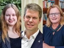 Dit zijn de drie nieuwe wethouders van Waddinxveen