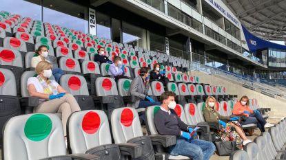 Geen vaccin, geen sportwedstrijden in vol stadion