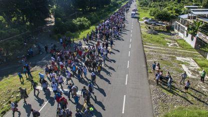 Trump wil hulp aan Centraal-Amerikaanse landen verminderen omdat ze er niet in slagen 'karavaan' migranten tegen te houden