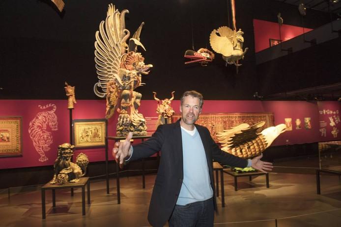 Stijn Schoonderwoerd, directeur van Museum van Wereldculturen.