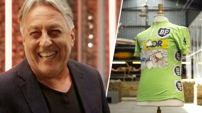 """Eddy Planckaert verkoopt groene trui in 'Stukken van mensen': """"Nooit gewassen"""""""