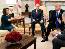 Ruzie tussen Trump en Democraten naar kookpunt