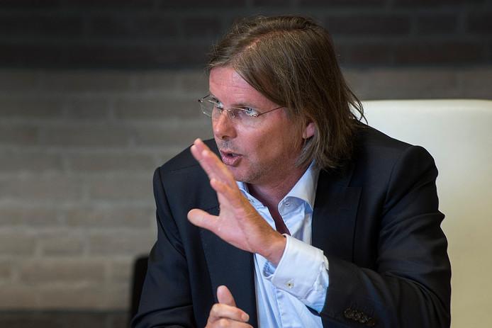 Oud-wethouder Patrick van Lunteren (SP) van Breda.