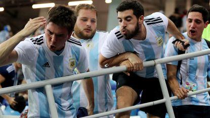 Argentijnse fans reageren frustraties af in het stadion, Zagreb duikt feestnacht in
