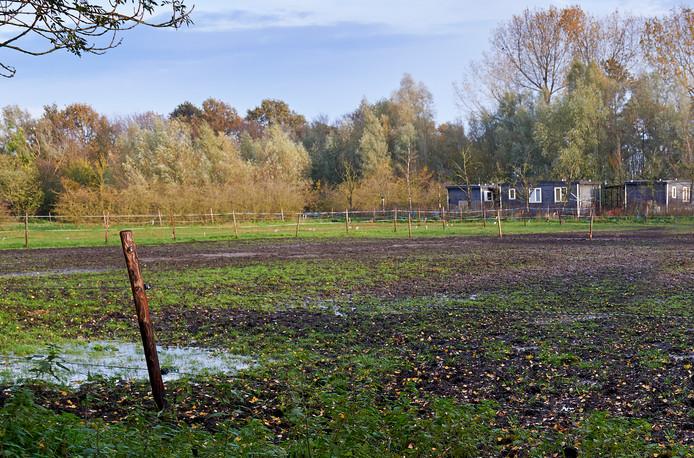 De plek op het landgoed waar Jos van den Berg uit Zeeland woonunits voor arbeidsmigranten wil bouwen