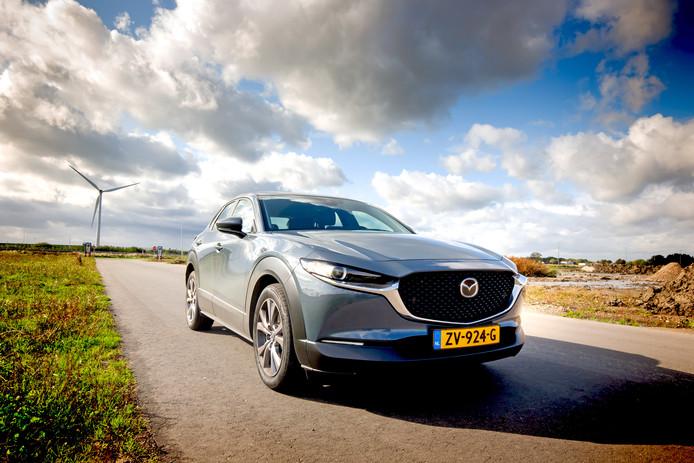 De Mazda CX-30 verschijnt dit jaar met volledig elektrische aandrijving