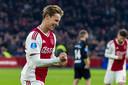 Tegen zijn oude club Willem II was Frenkie de Jong eerder dit seizoen trefzeker.