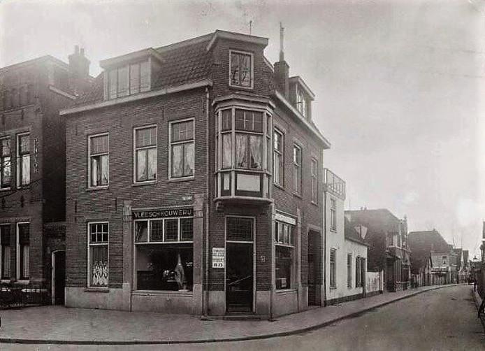 De slagerswinkel van Bob van Oss aan De Lind in Oisterwijk.