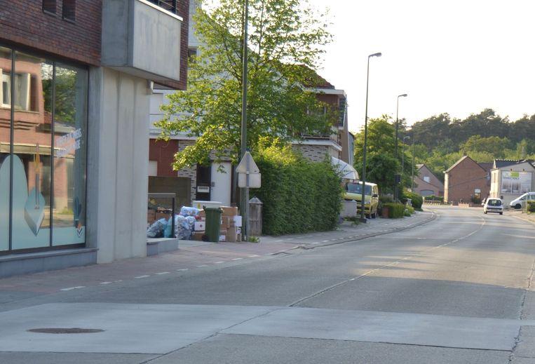 De Dorpsstraat in Begijnendijk