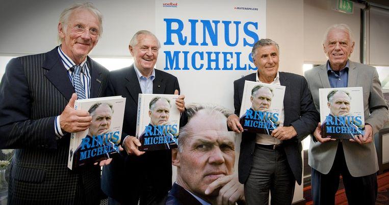 De presentatie van de biografie over Michels. Beeld anp