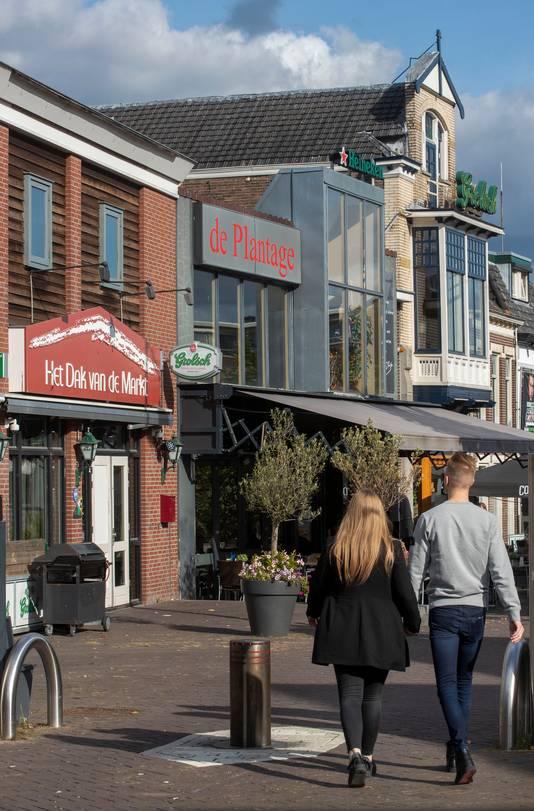 Café Het Dak van de Markt op de Markt in Veenendaal.