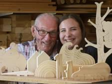 Henk (79) zamelde meer dan 1 miljoen euro in met zelfgemaakt houten speelgoed, nu gooit hij het roer om