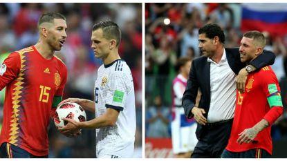Hoe Sergio Ramos bij penaltyreeks tegen Rusland alweer zijn meest vileine kant liet zien