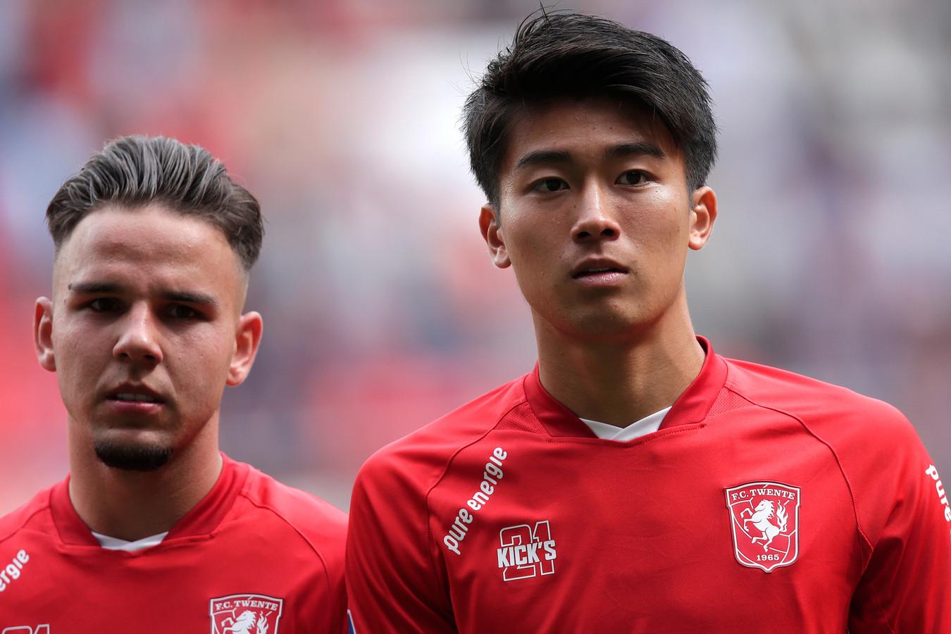 Twee nieuwkomers bij FC Twente: Calvin Verdonk en Keito Nakamura.