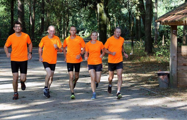 Wim Godschalk,Staf Vandendungen, Gino Steemans,Hanne Van de Sande en Christophe Van Haute van Retie Trial.