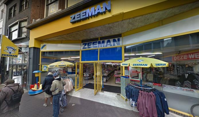 De Zeeman op de Voorstraat in Dordrecht.
