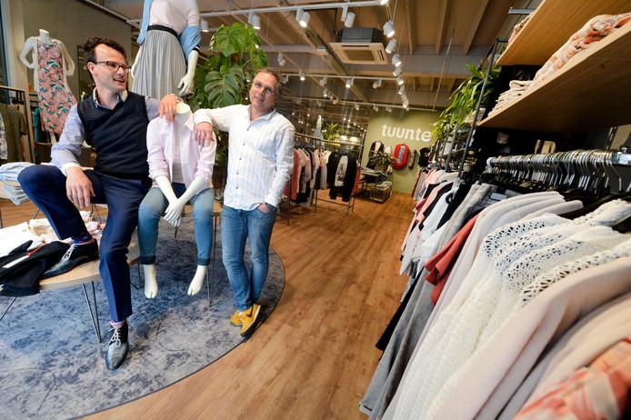 De Enschedese vestiging van Tuunte fashion.