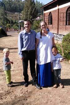 Rik en Caroline verruilden Zevenhoven voor Rwanda