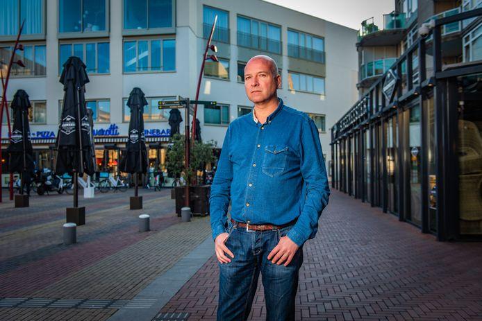 Edwin Degen: ondernemer, horecavoorman en voorzitter van de winkeliersvereniging in het Stadshart in Zoetermeer.