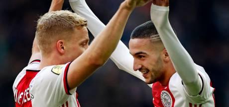 'Ajax wordt met twee vingers in de neus kampioen'