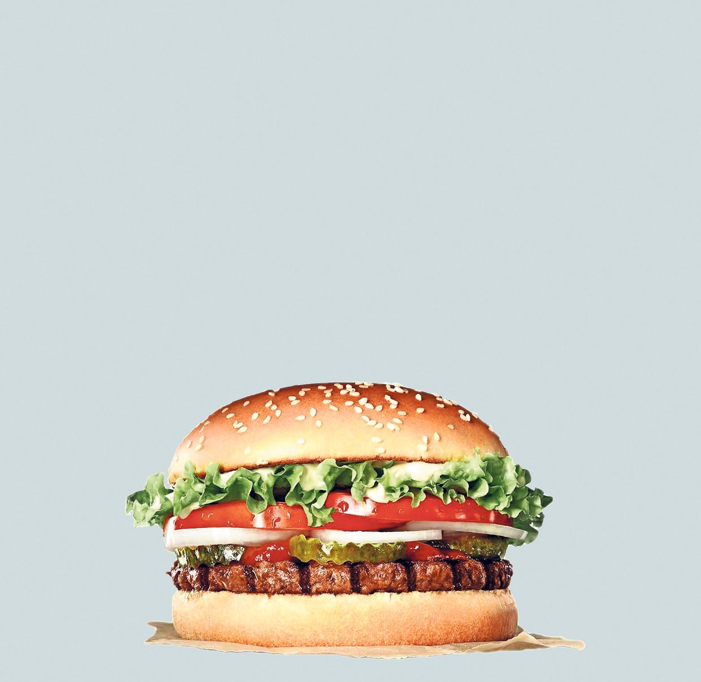 De vegetarische Whopper is vanaf volgende week in verschillende Europese landen te verkrijgen.
