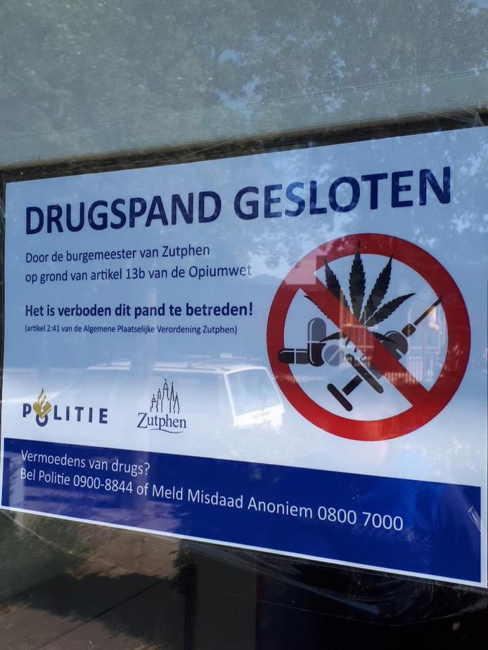 Burgemeester sluit drugspand bij Zutphense basisscholen