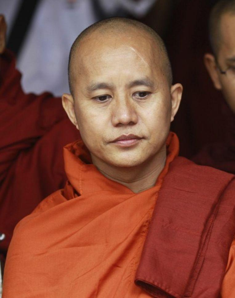 De boeddhistische monnik Wirathu Beeld reuters