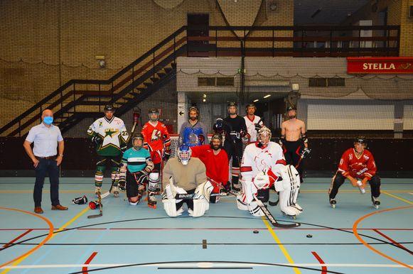 Sporthal Rijschool in Leuven wordt vaak gebruikt door sportclubs maar ook door scholen.
