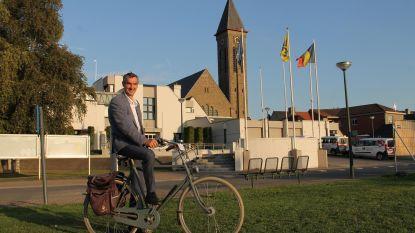 Luc Derudder legt eed af als nieuwe burgemeester