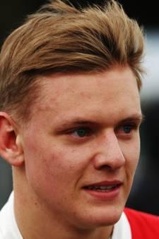 Eerste podium Mick Schumacher in Formule 3