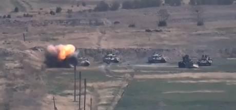 Nagorno-Karabach claimt vernietiging legermaterieel Azerbeidzjan