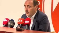 """Yves Vanderhaeghe ambitieus bij Kortrijk: """"De beker moet een doel zijn"""""""