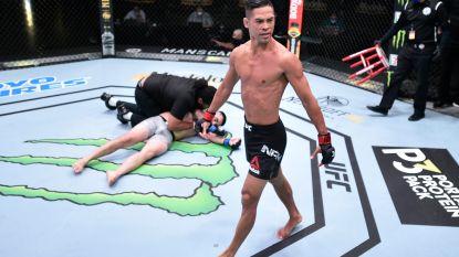 Dat hadden ze nog nooit gezien in het UFC: eerste drie kampen in minder dan één minuut brutaal beslecht