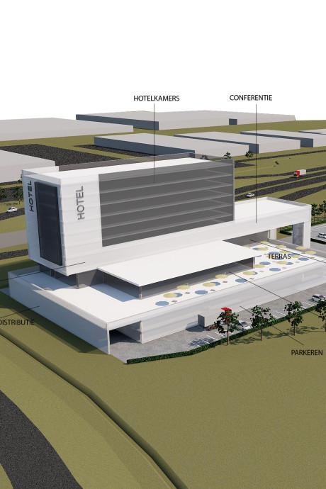 Grootse plannen: hotel, kantoor én restaurant op locatie GroenRijk in Waalwijk