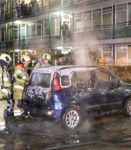 Opnieuw autobrand op Groenhoek in Driebergen