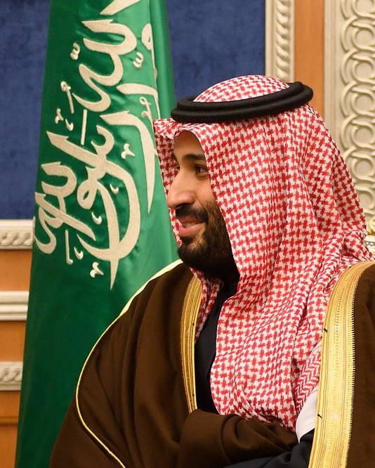 "Le prince héritier saoudien Mohammed ben Salmane (""MBS"")"