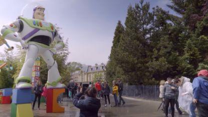 VIDEO. Grappig: sprekende Buzz Lightyear verrast bezoekers Disneyland Paris