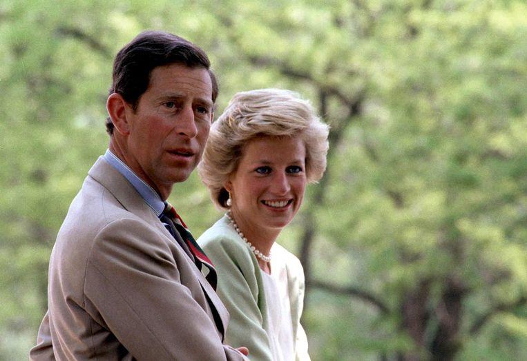 Charles en Diana in 1990.