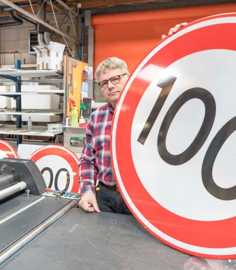 Verlaging naar 100 km/u levert Knieriem uit Goes veel werk op