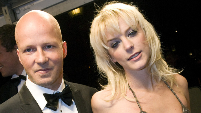 Stacey Rookhuizen en Kristof van de Parre. ©ANP