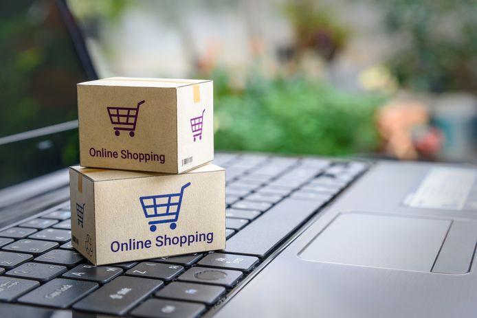 Het aantal aankopen online stijgt.