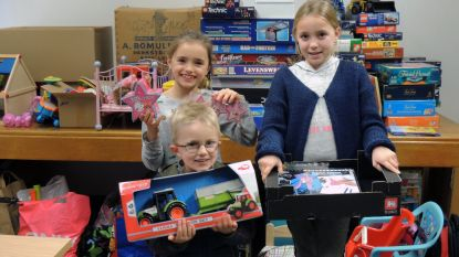 Kinderen krijgen extra kerstgeschenkjes dankzij OCMW